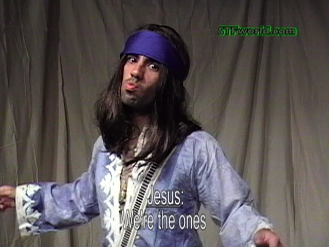 Jesus from the Stranger than Fiction Show